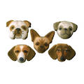 Small Dog Assortment Dec-on Sugar Decorations 40mm (70)