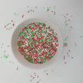 Sprinkles Xmas Mix Red/White/Green (1kg bag)