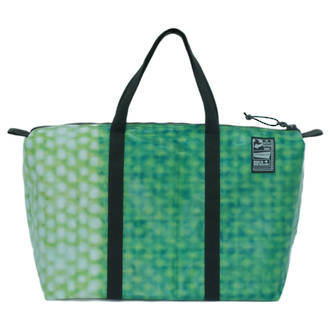 Recycled Billboard Bag - med gear 03292