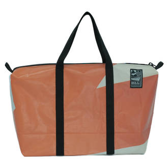 Recycled Billboard Bag - med gear 03401