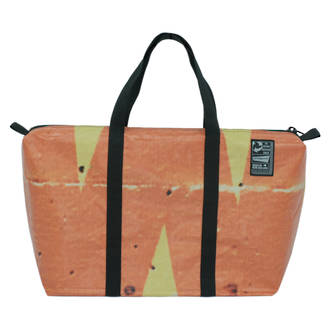 Recycled Billboard Bag - med gear 03402