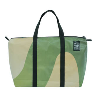 Recycled Billboard Bag - med gear 03414