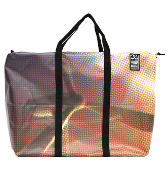 Recycled Billboard Bag - large gear 30452