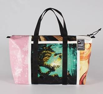 Recycled Billboard Bag - med gear 30464
