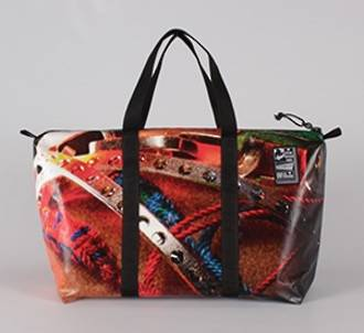 Recycled Billboard Bag - med gear 30484