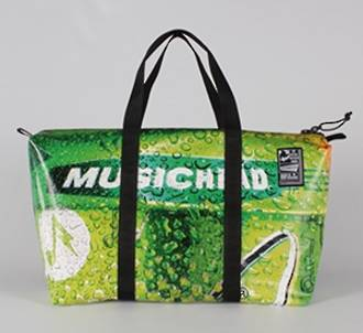 Recycled Billboard Bag - med gear 30489