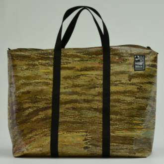 Recycled Billboard Bag - large gear 30502