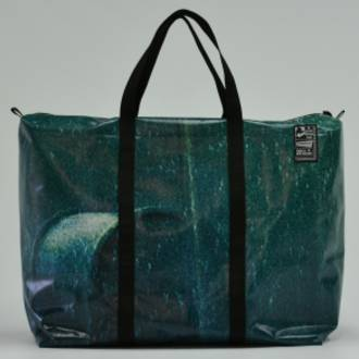 Recycled Billboard Bag - large gear 30503