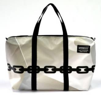 Recycled Billboard Bag - med gear 30552