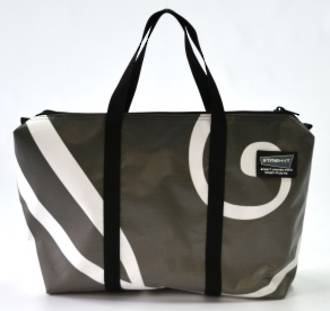 Recycled Billboard Bag - med gear 30554