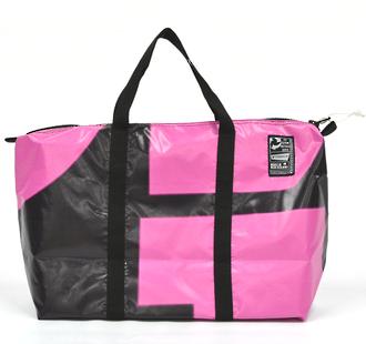 Recycled Billboard Bag - med gear 30622
