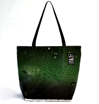 Recycled Billboard Bag - tote 40053