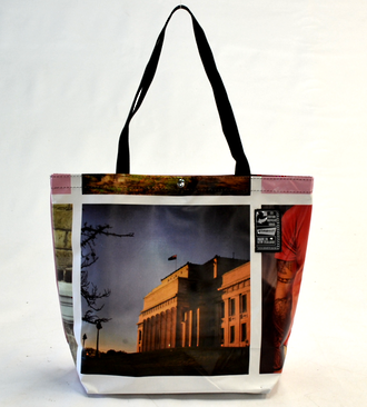 Recycled Billboard Bag - tote 40063