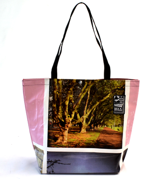 Recycled Billboard Bag - tote 40066