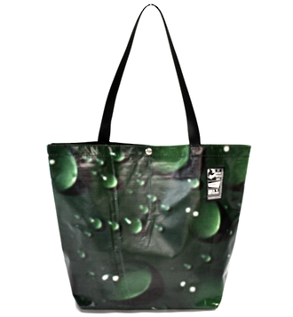 Recycled Billboard Bag - tote 40085