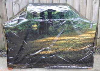 Hooded BBQ Cover Recycled Billboard Medium 80095