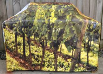 Hooded BBQ Cover Recycled Billboard Medium 80097