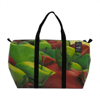 Recycled Billboard Bag - med gear 03287