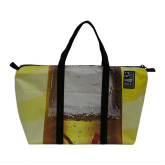 Recycled Billboard Bag - med gear 03284