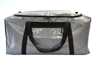 Gear Bag with side pocket  186 Litres– Grey PVC