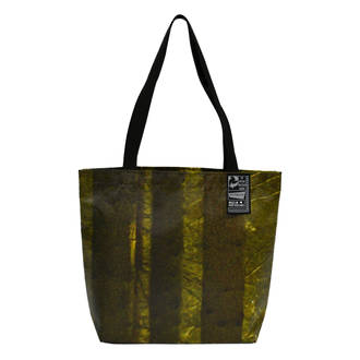 Recycled Billboard Bag - Small Tote 04102