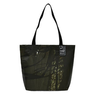 Recycled Billboard Bag - Small Tote 04103