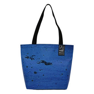 Recycled Billboard Bag - Small Tote 04105
