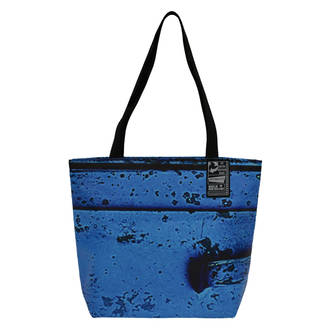 Recycled Billboard Bag - Small Tote 04107