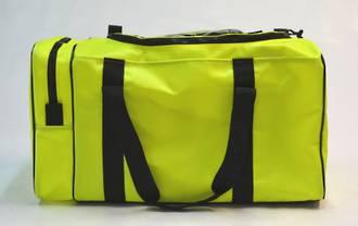 PPE / Gear Bag - Yellow (35cm x 35cm x 70cm, end pocket U-shaped zip)