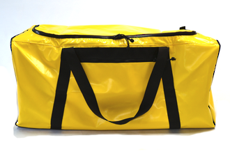 Gear Bag with side pocket  186 Litres – Yellow PVC