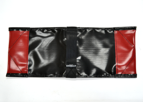 Sand Bags Black - Unfilled Deluxe Black and Red