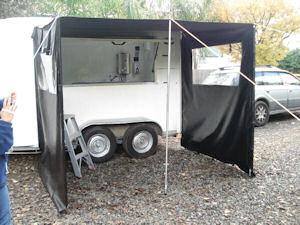 food caravan awning