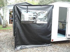 food caravan awning 1
