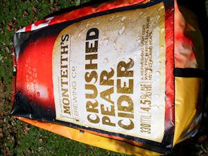 recycled billboard bean bags monteiths 2