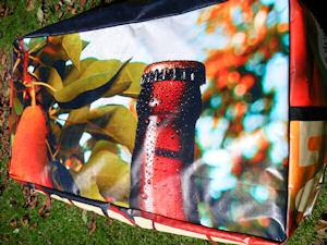 recycled billboard bean bags monteiths 4