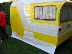 retro caravan skirt lge