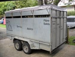 alpaca transport trailer cap cover 2