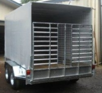 horticulture transport trailer cage cover 1