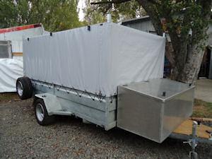 trailer cage cover trades