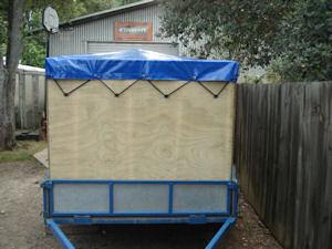 trailer cap cover
