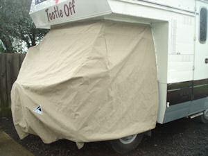 camper van storage cover