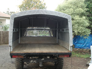 small truck canvas  canopy  cover 2