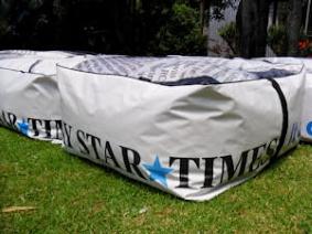 recycled billboard bean bags fairfax 1