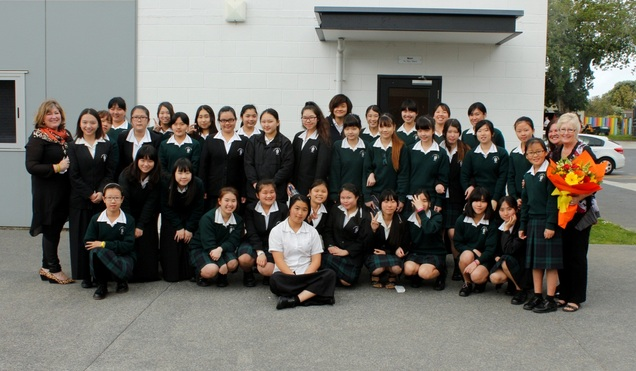 St Dominics college group photo
