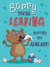 A10916 - Sorry You're Leaving