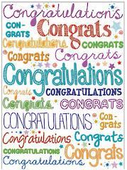 A11127 - Congratulations