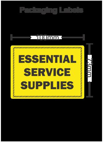 Essential Service Supplies