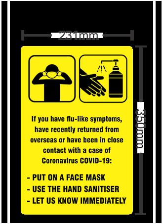 Covid19 Warning