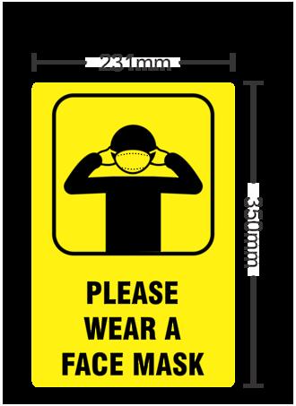 Please Wear A Face Mask