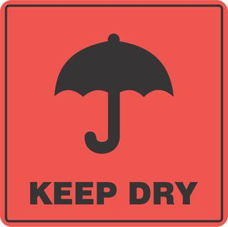 Keep Dry x500 labels